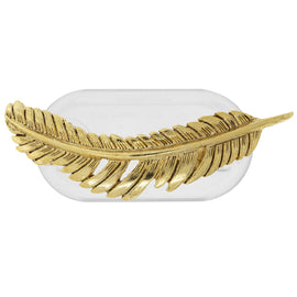 Magcessory 14K Gold Dipped Feather Magnetic Eyeglass Holder