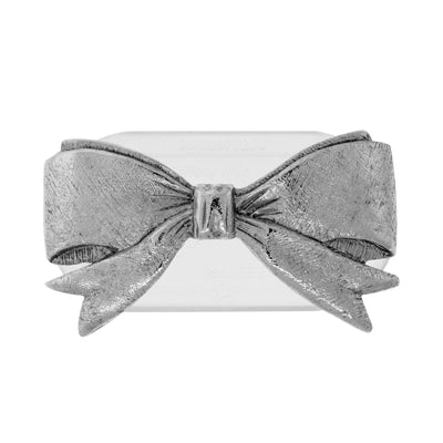 Magcessory Pewter Ribbon Magnetic Eyeglass Holder