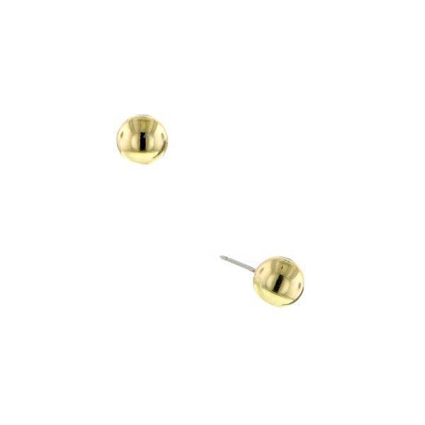 Gold-Tone Stud Earrings