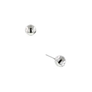 Silver-Tone Stud Earrings