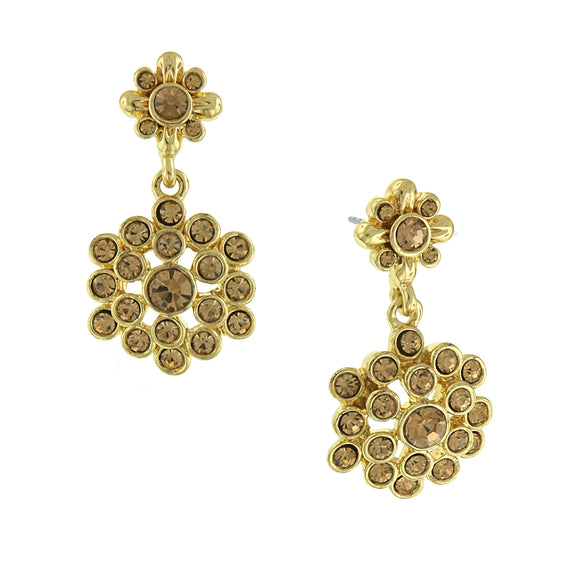 Gold-Tone Lt. Colorado Drop Earrings