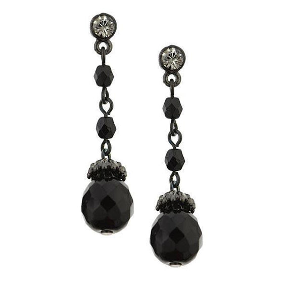 Fashion Jewelry - 1940s Vintage Style Petite Drop Earrings
