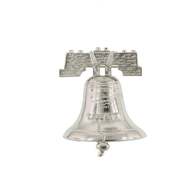 1928 Jewelry Silver-Tone Liberty Bell Pin