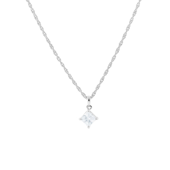 1928 Jewelry: 1928 Jewelry - Silver-Tone Cubic Zirconia Necklace 16