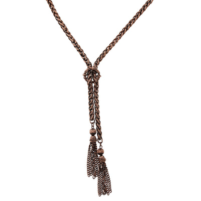 Antique Tassel Necklace 27