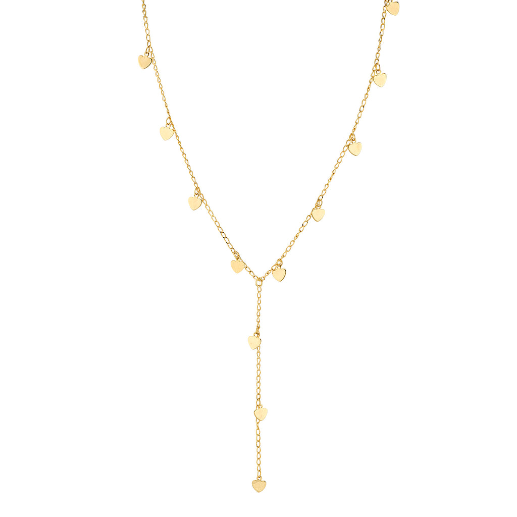 14k Gold Dipped Chain Y Neck 13.5 Adj