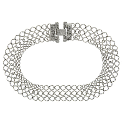 Collectanea Interlaced Chain Collar 17 Inches