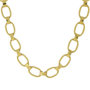 Gold-Tone Link Necklace 18 In