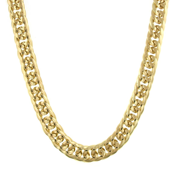 Signature Gold-Tone Curb Chain Necklace