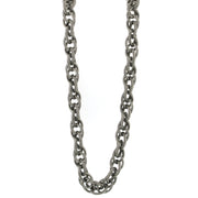 Silver-Tone Large Chain Necklace 30 In