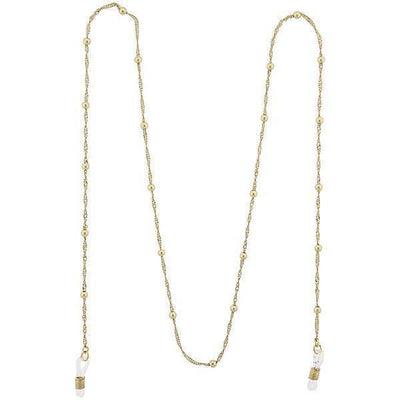 Gold-Tone Ball Chain Eyeglass Holder Necklace 32