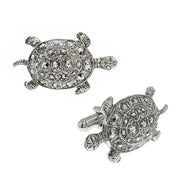 14K Gold Dipped Turtle Cuff Links