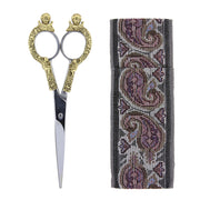 Two-Tone Scissors With 6.5  Cloth Pouch