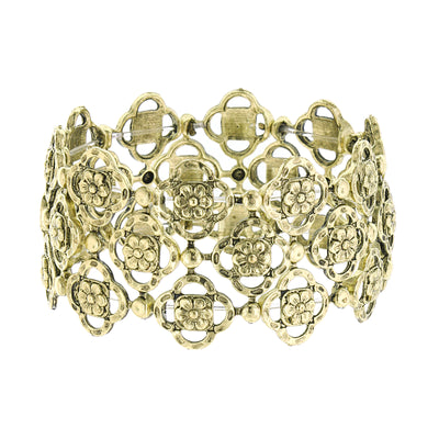 Brass Tailored Stretch Bracelet