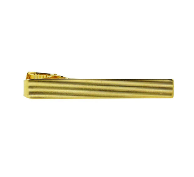 14K Gold Dipped Plain Tie Clip