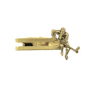 14K Gold-Dipped Hockey Tie Bar Clip