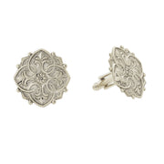 Box For Fleur De Lis Medallion Cufflinks