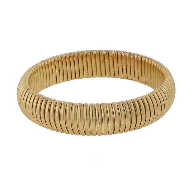 Assorted Gold Tone Stretch Bracelets