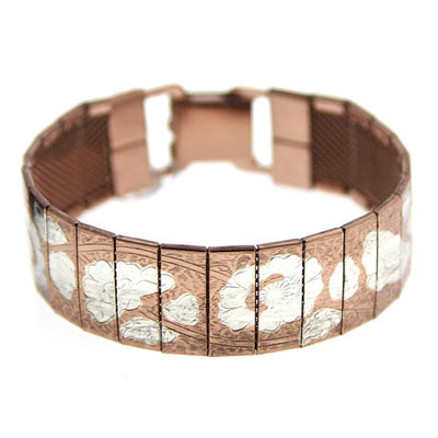 Rose Gold-Tone and Silver-Tone Bracelet