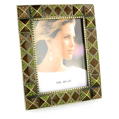 Gold Tone Square Picture Frame