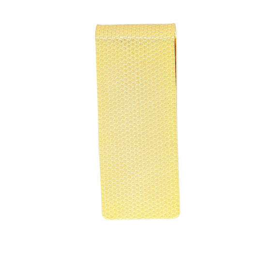 Gold Tone Mesh Thin Money Clip
