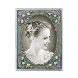 Black Antique with Crystal AB Picture Frame