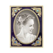 Fashion Jewelry   Emmas Berry Enamel And Red Crystal Vintage Picture Frame