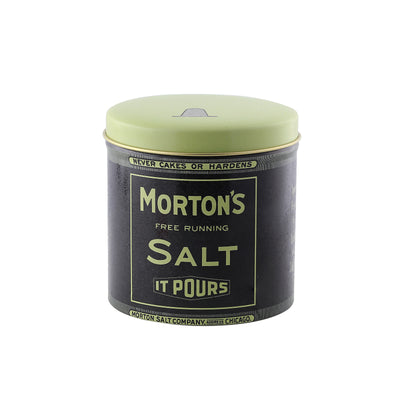Morton s Salt Mini Round Can 3-9/16x3.5