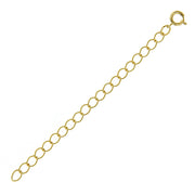 Gold Tone 3  Chain Extension