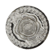 Silver Tone Tailored Handle Rose Wax Stamp
