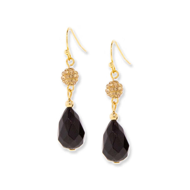 Gold-Tone  Briolette Drop Earring