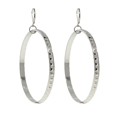 X Large Hoop Earrings