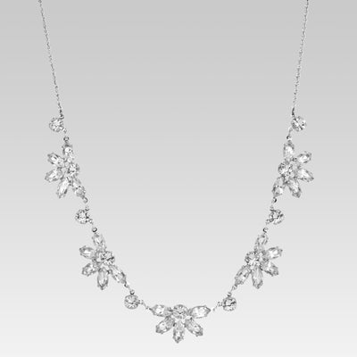 Swarovski Crystal Navette Necklace 15 Inches