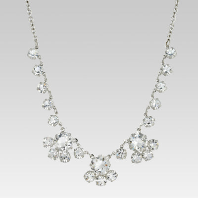 Swarovski Round Crystal Necklace 16 Inch Adjustable