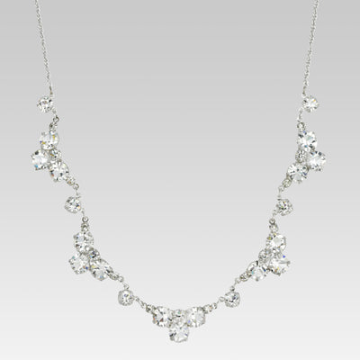 Swarovski Crystal Round Necklace 15.5 Inch
