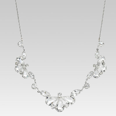 Swarovski Crystal Drop Shape Drop Collar 15 pulgadas