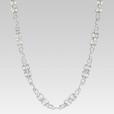 Swaovski Crystal  Necklace 14.5 Inches