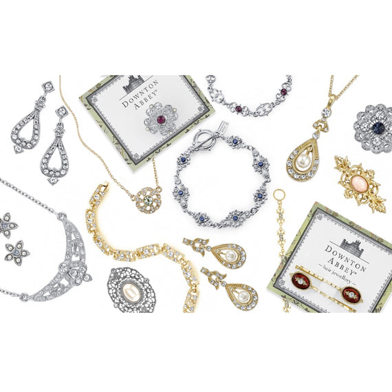 Assorted  Carded Package Earring Necklace and Hair Clip