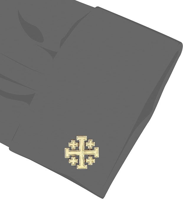 14K Gold Dipped JerUSAlem Cross Cuff Links