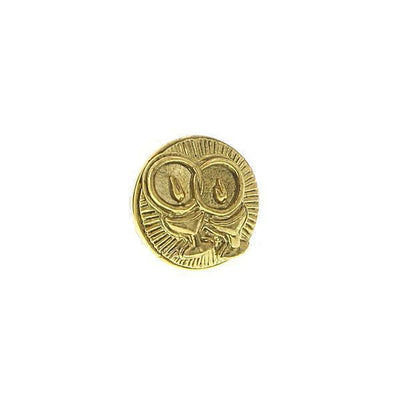 14K Gold Dipped Unity Chalice Round Tie Tack
