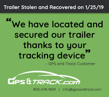 Trailer Tracking GPS with 5-Year Battery Life - 4G Network - Includes 3 Years of Service