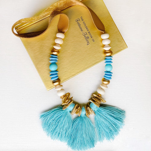 Carolinas Fringe Necklace