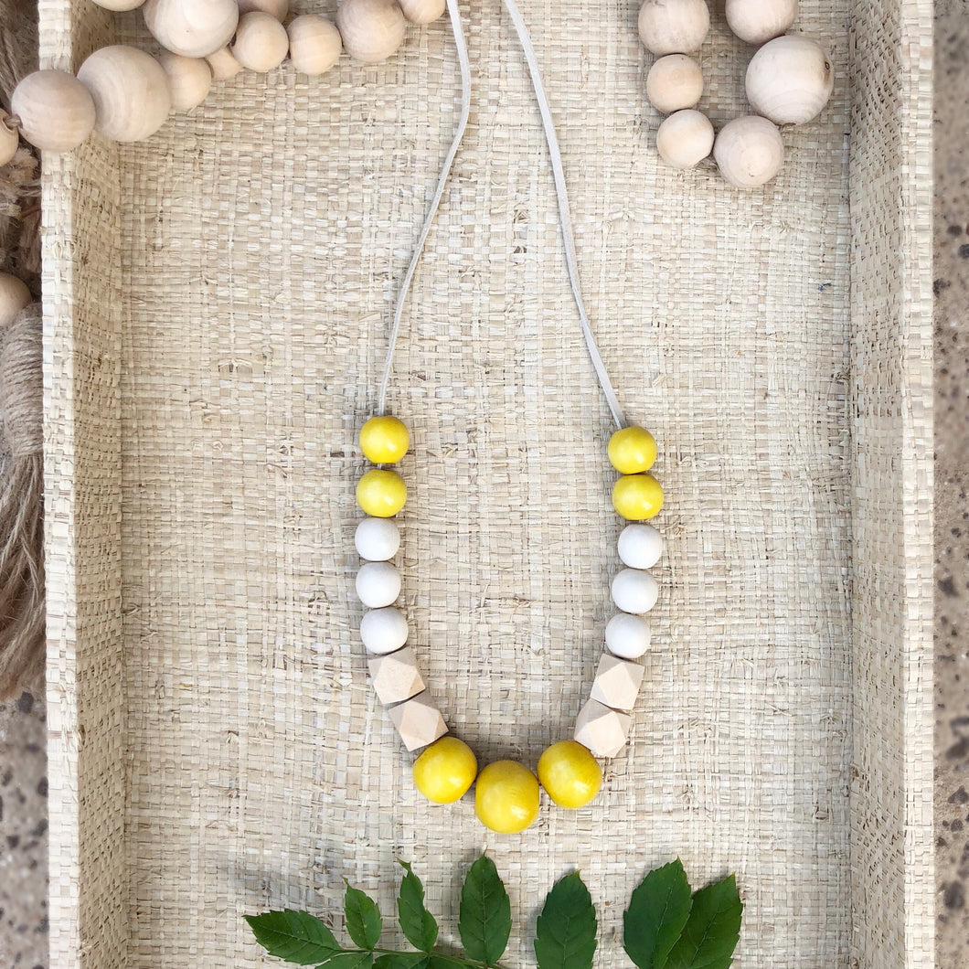 Back in School Lemon Necklace