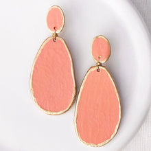 Parker Coral Earring