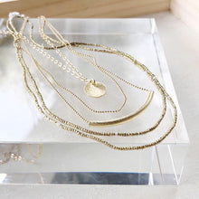 Delicate layers necklace