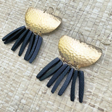 Boho midnight earring