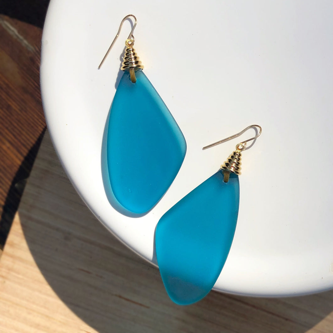 Isabella Peacock Earring