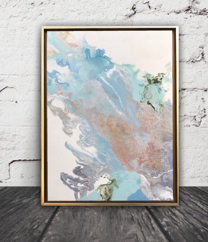 Garden Party abstract painting