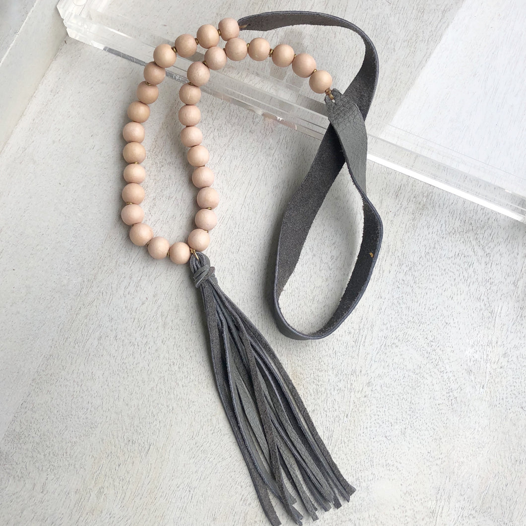 Lu Lu Tassel Necklace
