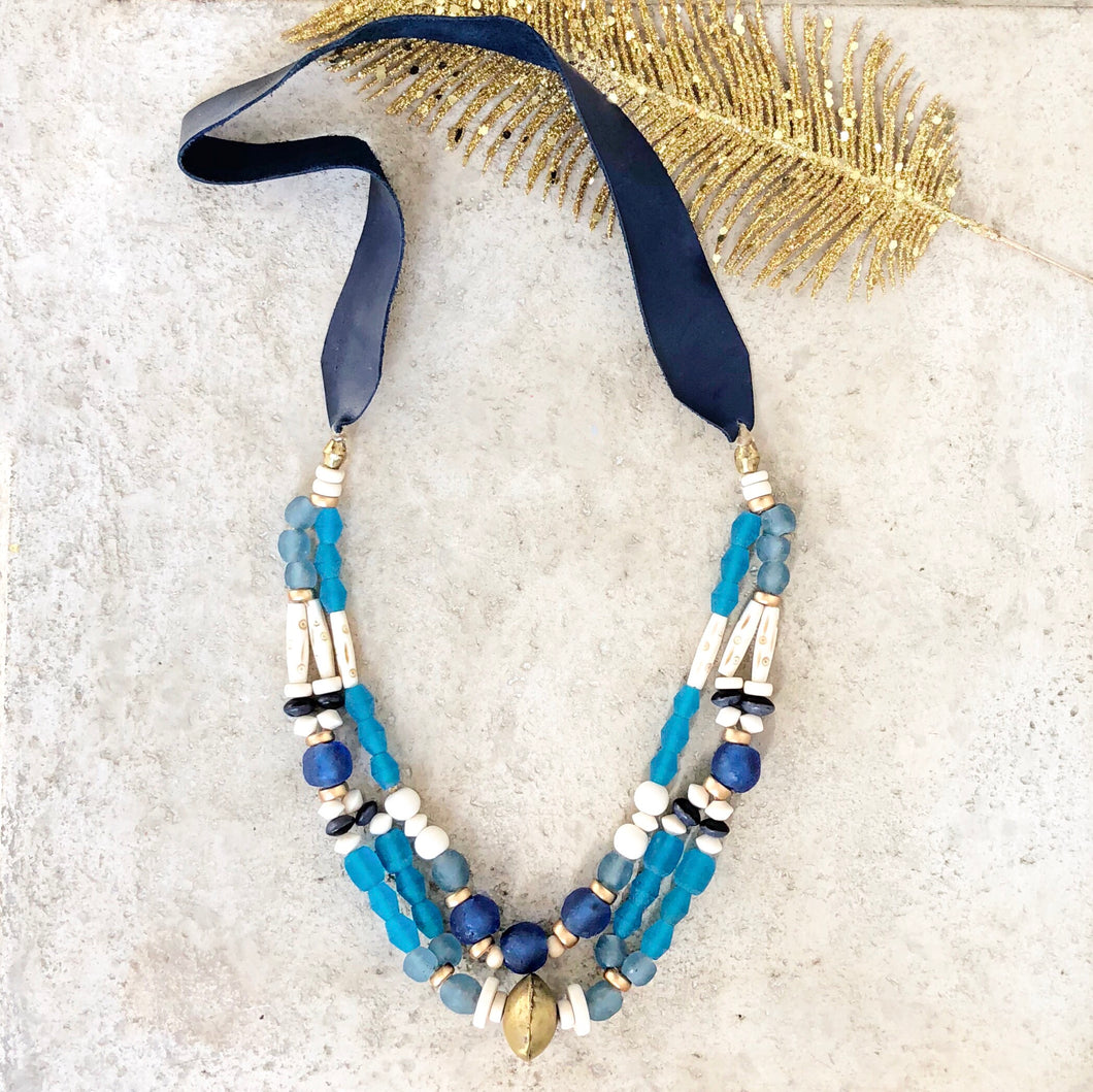Indigo Falls Necklace